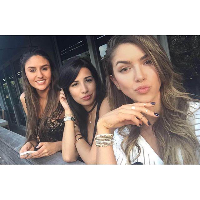 "anllela-sagra: ""#SelfieTime ✌️ @danibernalcano @andreaechavarria_ Want more? Take a look at: The Fitness Girlz """