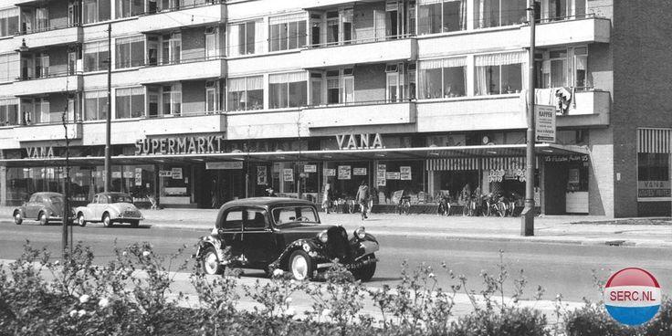 1958. A view of the Slotermeerlaan in the Slotermeer borough of Slotermeer in Amsterdam-West.Photo Serc. #amsterdam #1958 #Slotermeerlaan