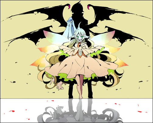 Mavis x Zeref   Mavis Vermilion (メイビス・ヴァーミリオン) & Zeref Dragneel (ゼレフ・ドラグニル)   Fairy Tail (フェアリーテイル), FT