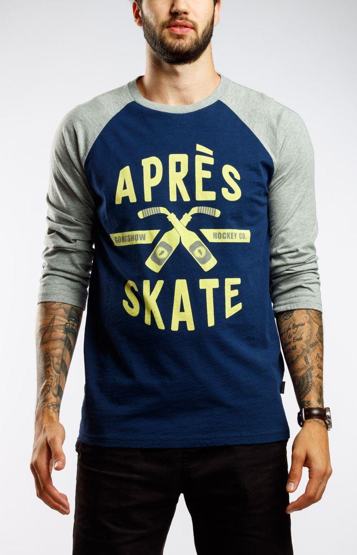 Apres Skate Beauty Squad Blue Gongshow Hockey Shirt | GONGSHOW Hockey Lifestyle Apparel