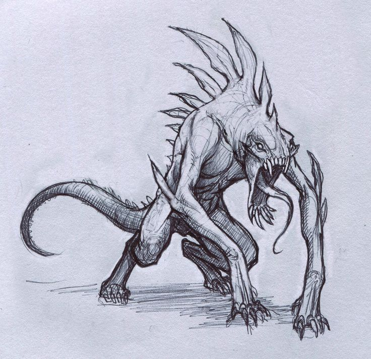 37 best images about concept art creatures on pinterest for How to draw cool creatures