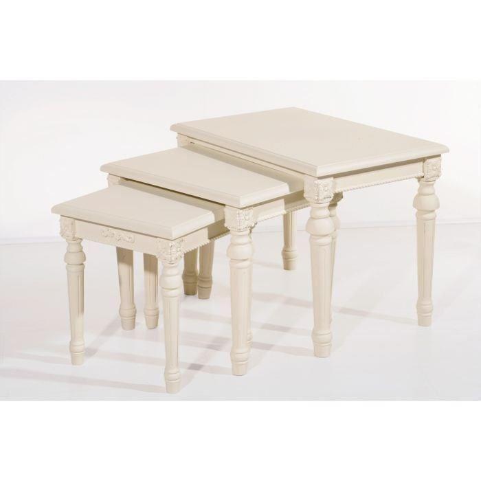Rome tables gigognes en bois neuf pme artisans agriculteurs locaux matériel