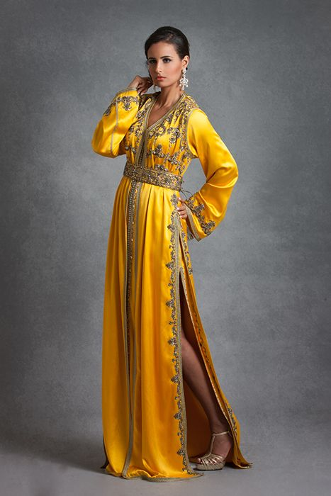 Caftan marocain moderne