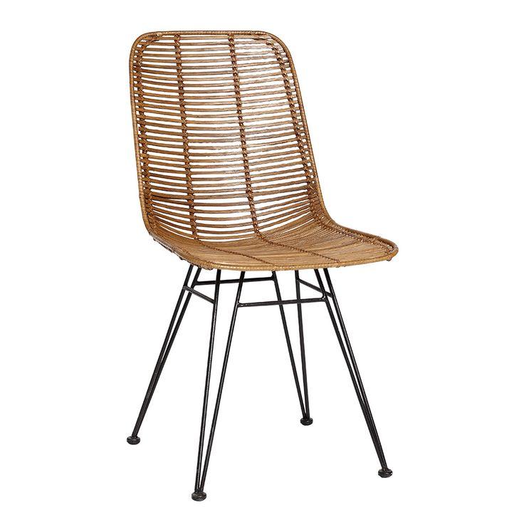 2 stk. Studio stol natur fra Hübsch Interior. Hurtig leveringstid. 14 dages fuld returret. På lager. Fri fragt ved køb over 499,-