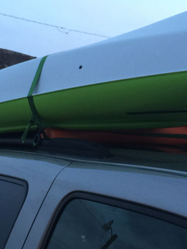 If Your SUV Doesnu0027t Have Cross Bars For The Roof Rack Just Use Pool