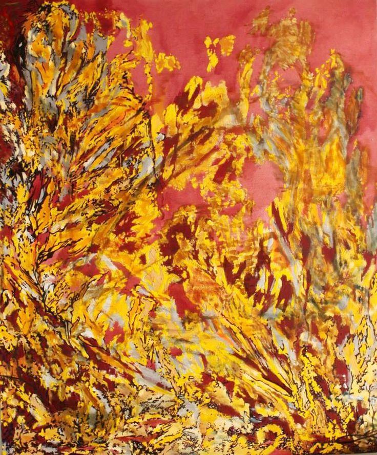 <<Catarsis #5>> (Otoño). Dimensiones: 150 x 120 cm. 2012-2013. Precio: $1'350.000