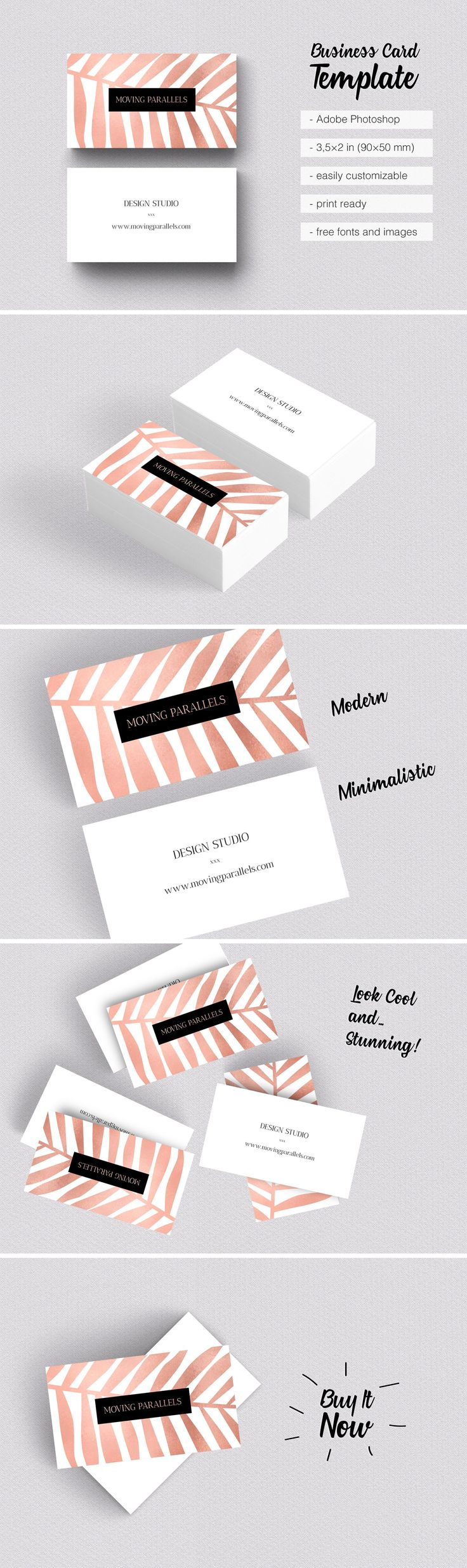 Best 25 promotional printing ideas on pinterest business card 8 rose gold business card etsy is classy sophisticated and elegant visiting card templates magicingreecefo Gallery