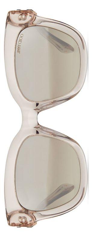 Jimmy Choo Maggie Jewel-Temple Sunglasses Clear