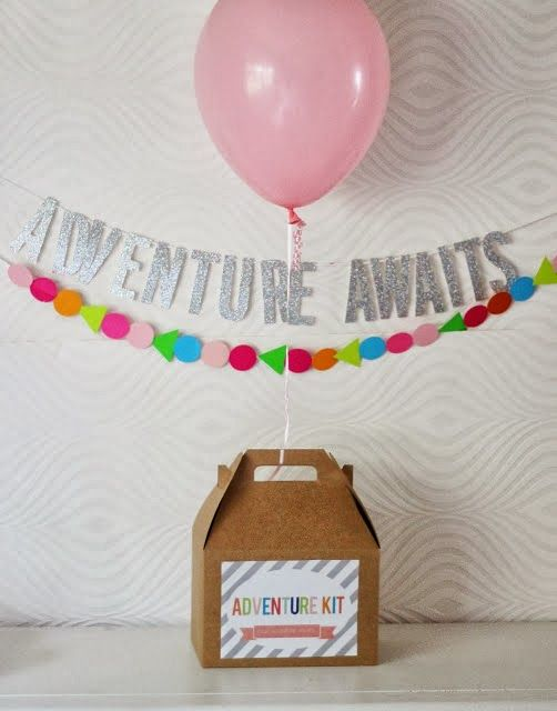 "This would be great to make and give out. It has great ideas on what to put inside.  Adventure Kit box- ""Adventure Awaits you as you Come Unto Christ"""