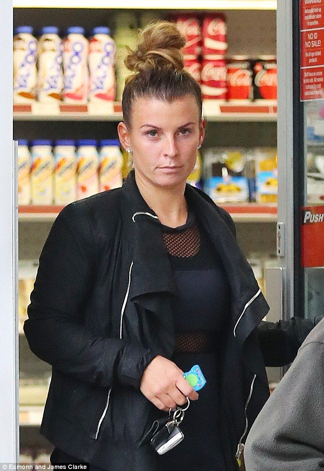 Working up a sweat:Coleen Rooney, 30,flaunted her toned figure in a semi-sheer mesh top as she headed for a workout in Alderley Edge, Cheshire, on Monday