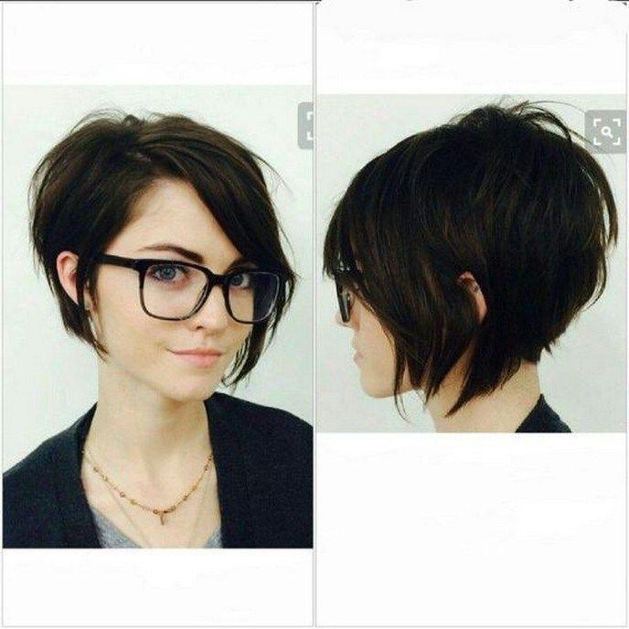 36 einfache und süße kurze Frisuren für rundes Gesicht 16 – JANDAJOSS.ME