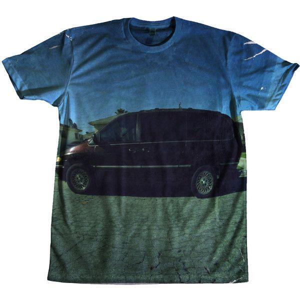 Kendrick Lamar Good Kid Maad City 1080p HD Tshirt ($45) ❤ liked on Polyvore featuring shirts and tops