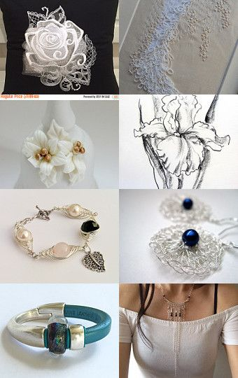 Winter wedding gifts by Susan Wilde on Etsy--Pinned with TreasuryPin.com