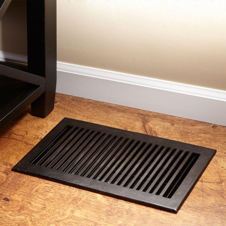 Modern Bronze Floor Register Cleanses Modern And Home