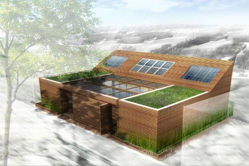 Estos son diseños de casas ecológicas pensadas para reducir el impacto de la contaminación al medio ambiente. Pero no dejes que te engañen, una casa puede