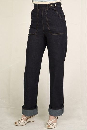 Classics 50's jeans by Freddies of Pinewood