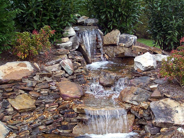 Yard Ponds And Waterfalls Backyard Waterfall And Pond Natures
