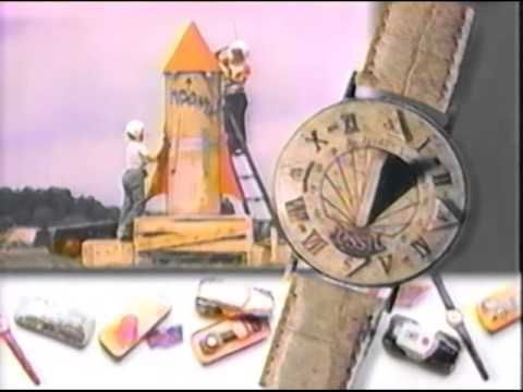 Fossil Watches Commercial 1991