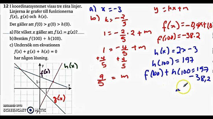 Matematik 5000 Ma 2c - Kapitel 1 - Algebra och linjära modeller - Blanda...