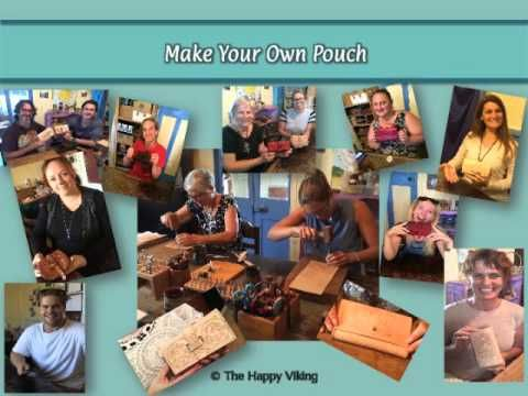 Curious about The Happy Viking's Leather Workshops?