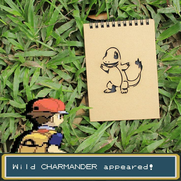Heat up your to do list with this Charmander notebook 🔥🔥🔥