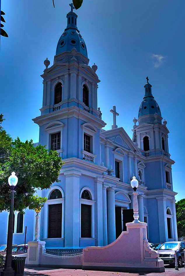 colorful church ponce puerto rico | Puerto Rico and ...