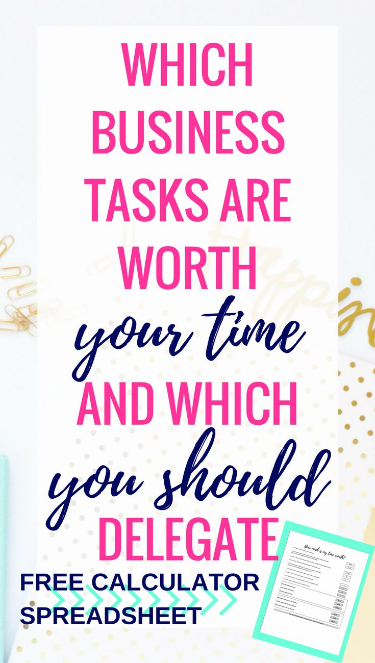 Which business tasks should you delegate. Time Management Tips | Time Management | Time Management Printable | Time Management for Moms | Time Management System | Time Management at Work | Time Management Strategies | Time Management Planner | Time Management Activities | Time Management Schedule | Time Management At home | Time Management Tools | Time Management Worksheet | Time Management Organization | Time Management Template | Daily Time Management | Time Management Chart...