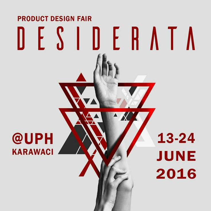 Desiderata UPH Karawaci Product Design Fair June 2016