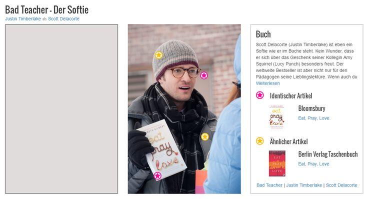 """Scott Delacorte (Justin Timberlake) ist eben ein Softie wie er im Buche steht. Kein Wunder, dass er sich über das Geschenk seiner Kollegin Amy Squirrel (Lucy Punch) besonders freut. Der weltweite Bestseller ist aber nicht nur für den Pädagogen seine Lieblingslektüre. Wenn auch du wissen willst, worum es in Elizabeth Gilberts """"Eat, Prey, Love"""" geht, dann kannst du dir den Roman als eBook oder Taschenbuch nachkaufen."""
