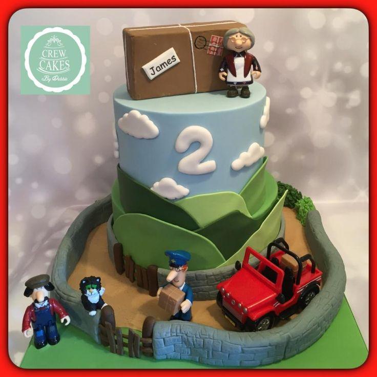 Postman Pat Cake - Cake by Crew Cakes