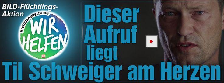 """Til Schweiger bekommt Anruf von Sigmar Gabriel http://www.bild.de/unterhaltung/leute/til-schweiger/telefoniert-mit-sigmar-gabriel-42000530.bild.html http://www.bild.de/politik/inland/sigmar-gabriel/erklaert-frust-telefonat-mit-til-schweiger-42005772.bild.html - #TilSchweiger: """"Nicht #reden,sondern #helfen. Jetzt!"""" http://www.bild.de/unterhaltung/leute/til-schweiger/unterstuetzt-fluechtlings-aktion-wir-helfen-von-bild-42455956.bild.html"""