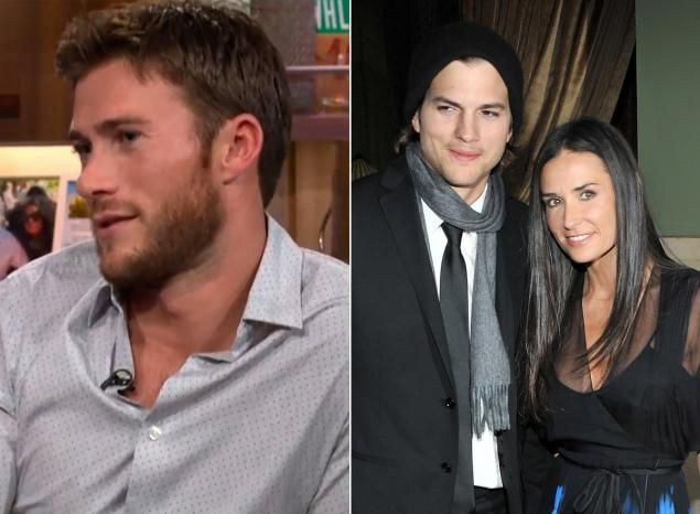 Scott Eastwood claims Ashton Kutcher cheated on Demi Moore with his girlfriend ... bobby flay cheating  #bobbyflaycheating