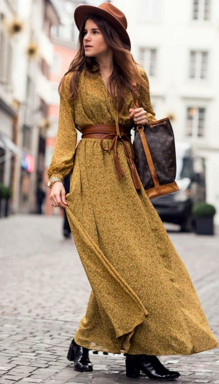 Vestido largo boho barato