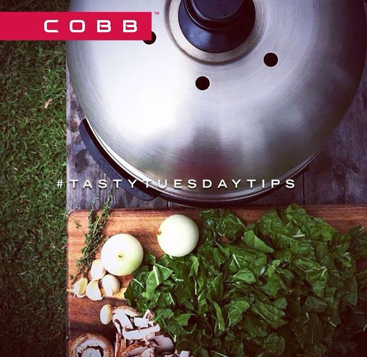 Catch us on Facebook: COBB Grill America for more ideas and inspiration