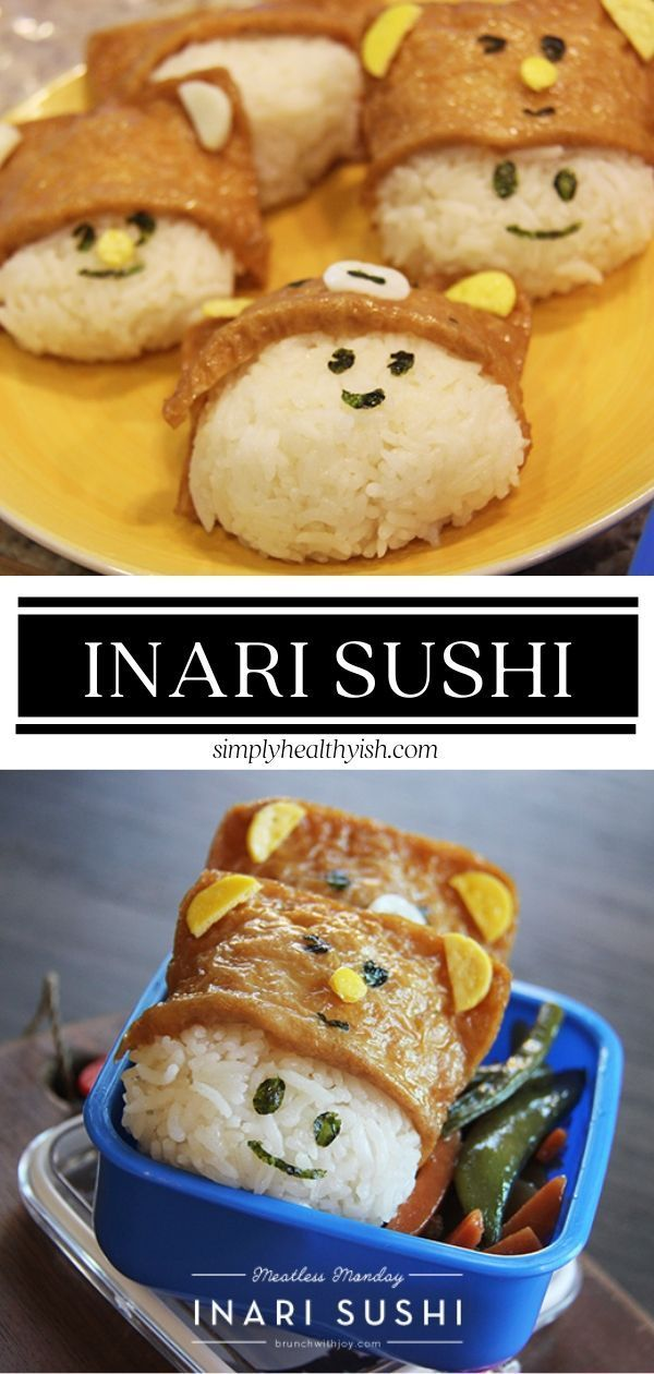 Inari Sushi Fun Easy To Make With Your Family And Delicious Recipe Homemade Recipes Easy Homemade Recipes Everyday Food