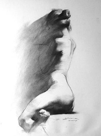 love love love this. Makes me want to go back at it. Henry Yan Figure Drawings