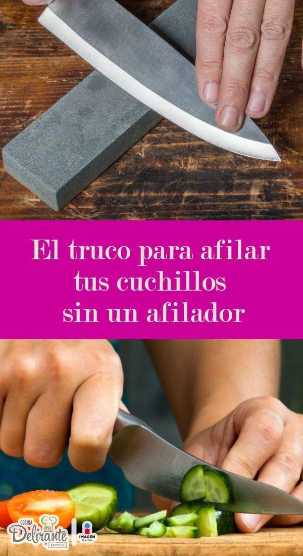 Este truco logrará afilar tus cuchillos sin usar un afilador