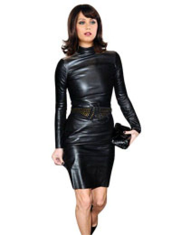1000+ images about womens-leather-dress on Pinterest ...