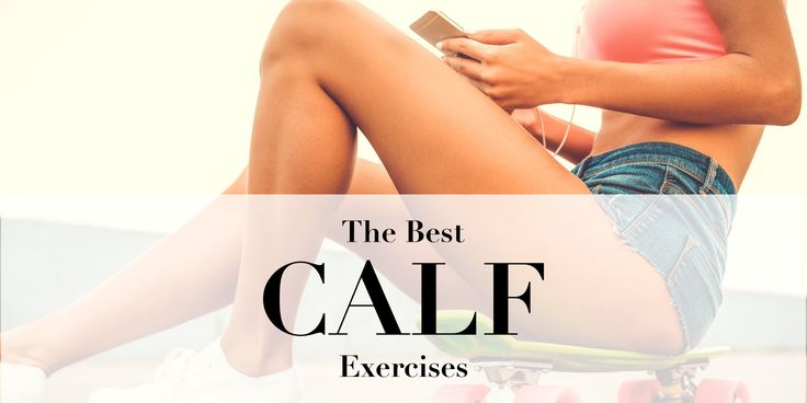 Top 10 calf exercises for sculpted, strong and feminine legs! If you want your legs to look amazing in high heels you need to start paying special attention to your calves. Strong and sculpted legs not only look fabulous in a short dress but can also help you boost your athletic performance and provide your body with a solid foundation to build upon. Add these 10 exercises to your leg workouts, engage your calves and feel the burn!