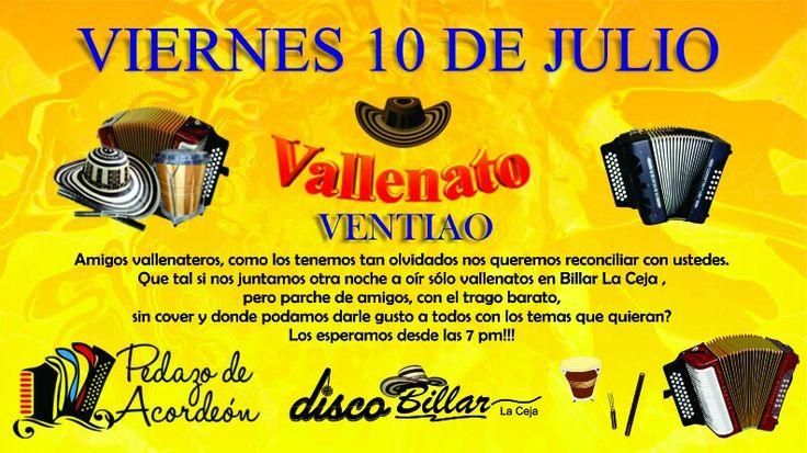 Encuentro Club Vallenateros de La Ceja y el Oriente Antioqueño