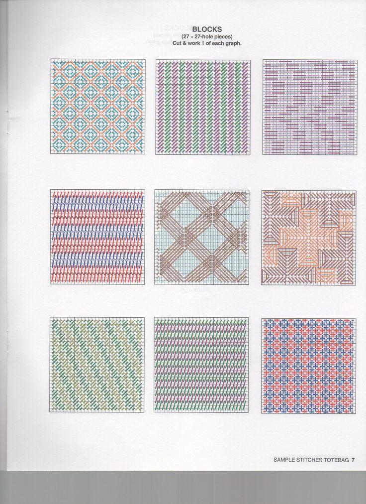 Borduren op Plastic Canvas: Voorbeelden, Ideeën, Patronen *Embroidery: Examples, Pattern ~DIY Boodschappentas 4/10~