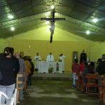 La parroquia de la Santa Cruz recibió al Obispo en el inicio de su visita pastoral
