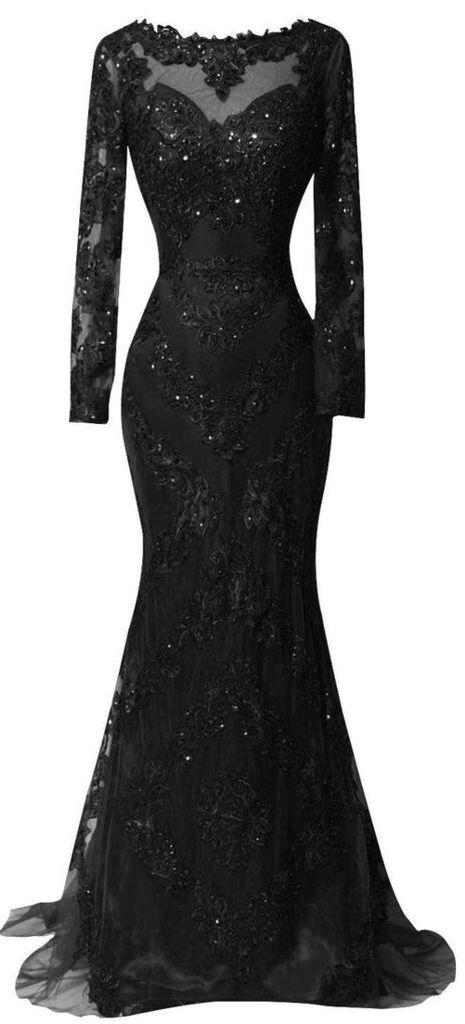 Black sequins