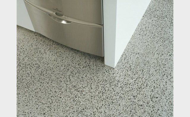 Honed internal concrete in Neutral colour