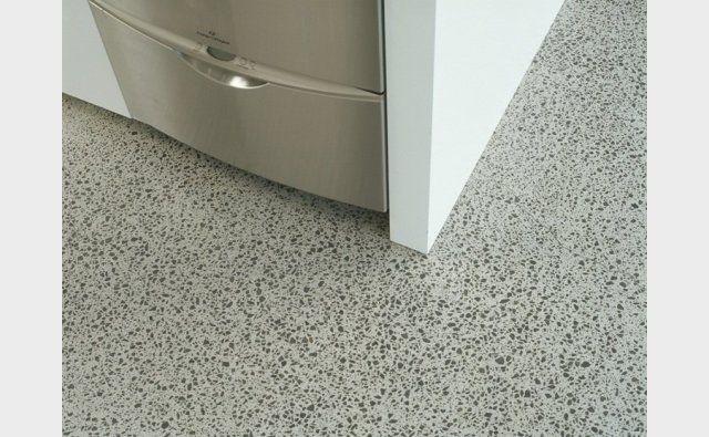 Honed internal concrete in Neutral colour