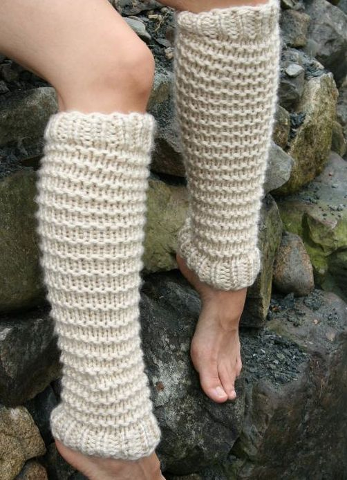 free pattern-leg warmers