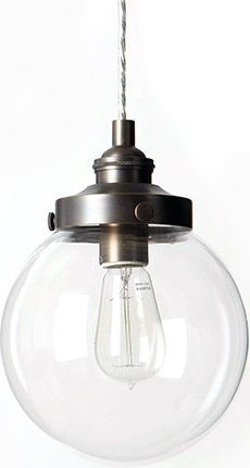 Mariner's globe pendant