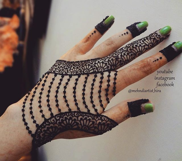 Not for everyone but someone might want to go for the chain look for their indian wedding mehndi