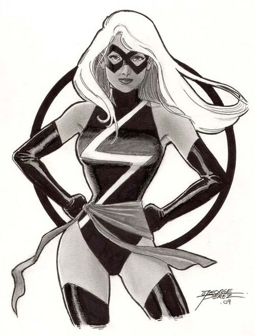 Ms. Marvel by George Perez