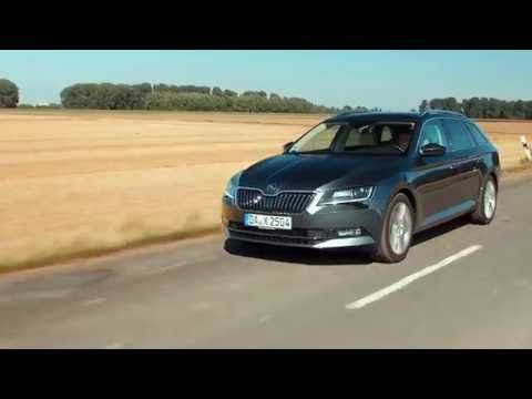 Neuer Skoda Superb Kombi Test deutsch - 2.0 TDI DSG Style - YouTube